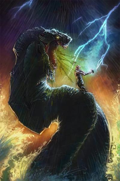 Ёрмунганд и Тор