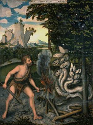 Геракл и Лернейская гидра, Лукас Кранах Старший