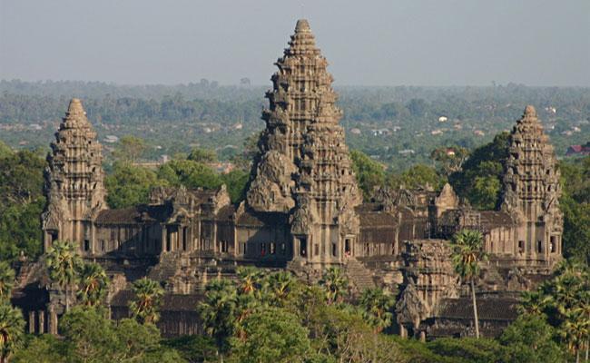 Храм Ангкор в Камбодже