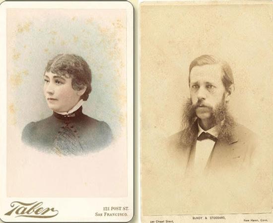 Сара и Уильям Винчестеры
