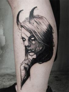 татуировка лилит