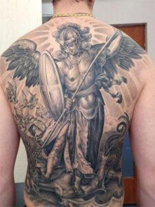 татуировка св. гавриила