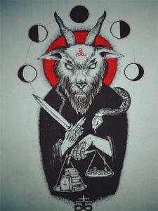 тату дьявола