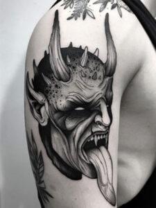 дьявольское тату