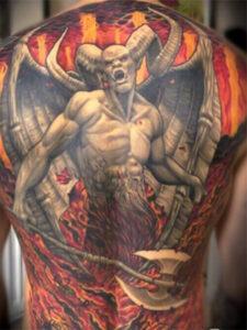 дьявол на спине