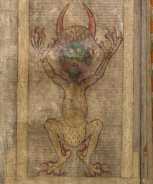 Изображение сатаны в Библии Дьявола
