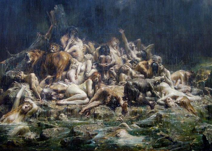 Потоп, как избавление от опасных созданий
