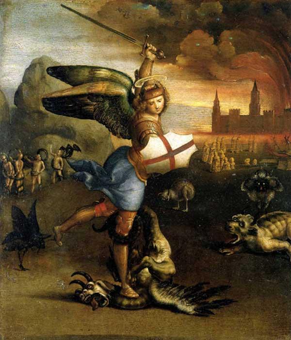 "Картина ""Святой Михаил и дракон"""