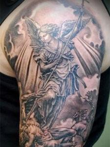 татуировки архангел михаил
