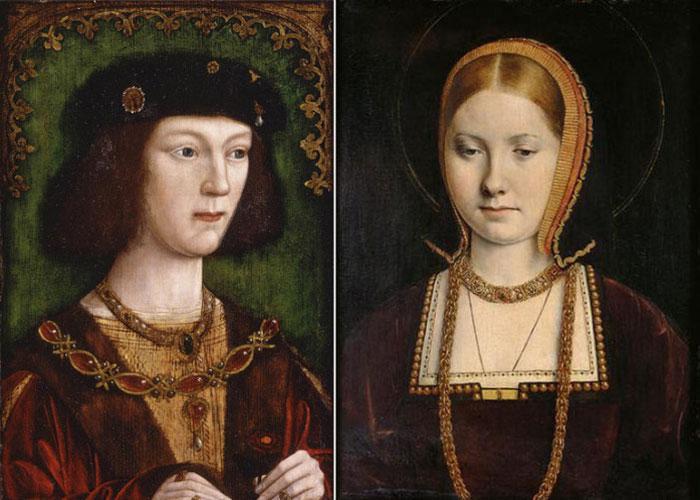 Генрих 8 и Екатерина