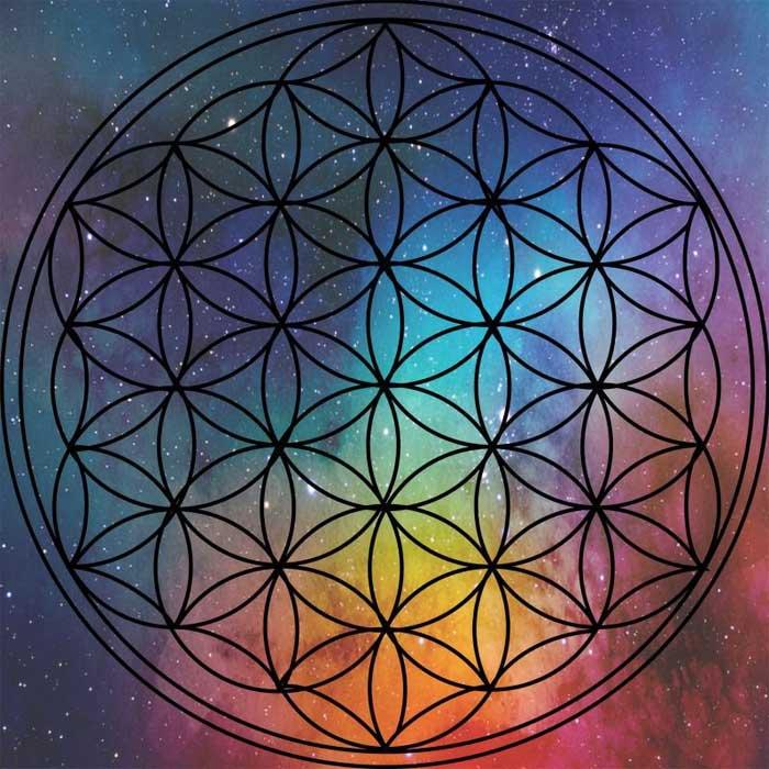 Символ «Цветок Жизни». Наиболее распространенный оберег из практик духовной геометрии