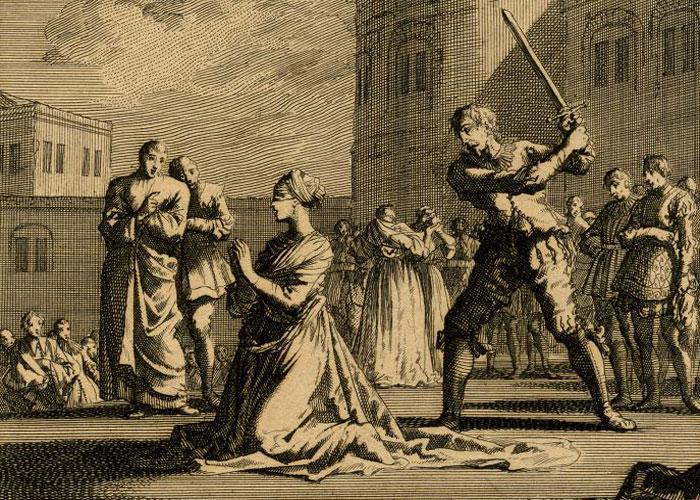 Казнь Анны Болейн