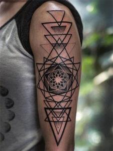 символы сакральной геометрии тату