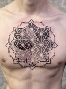 татуировка геометрия