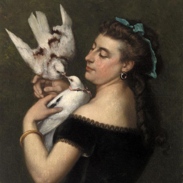 «Дама с голубками», 1800 год