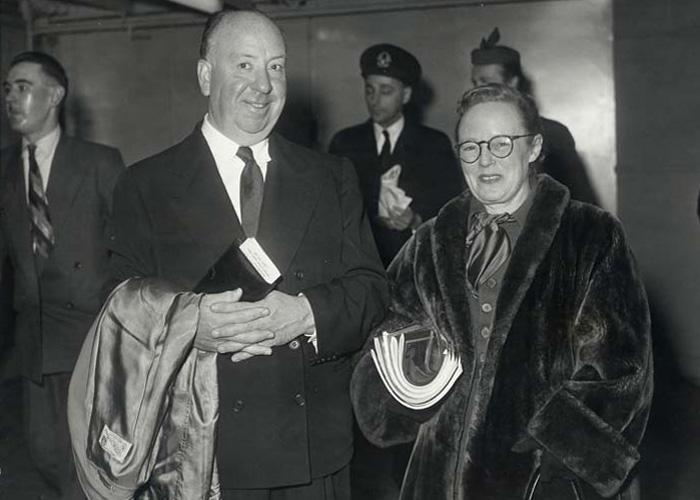 Хичкок с женой Альмой