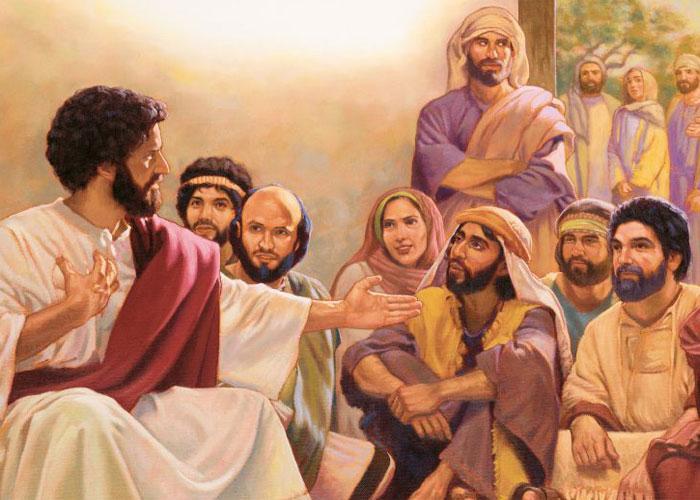 Обращение Иисуса к народу