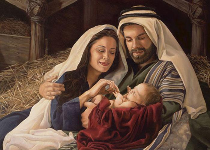 Родители Иисуса - Мария и Иосиф