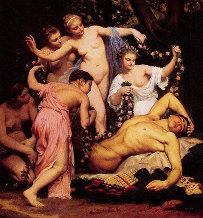 Картина 1870 года «Сон Пана», Эмиль Бен
