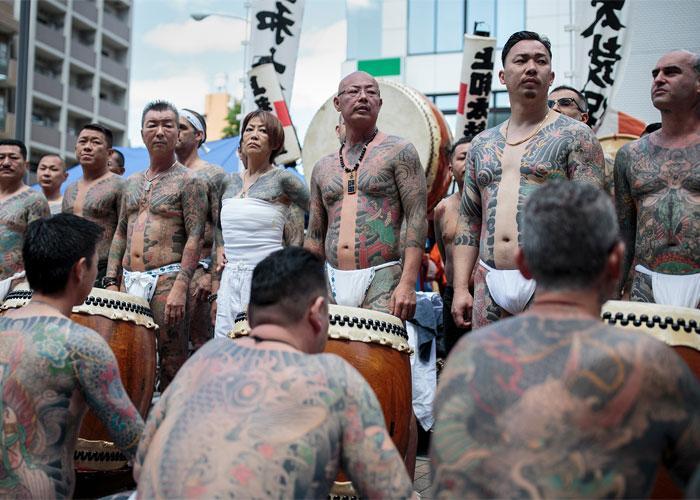 татуировки клана якудза