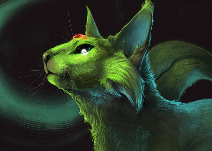 Фамильяр в форме кота