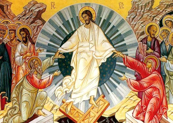 Воскрешение Христа, икона