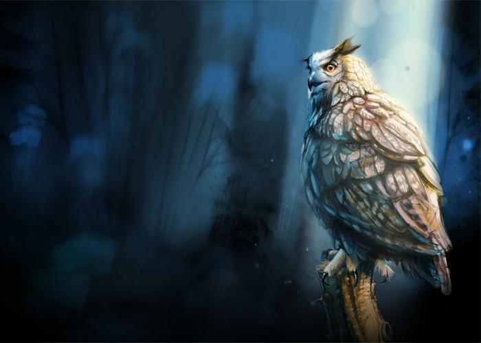 Мудрая сова, может оказаться довольно сильным фамильяром