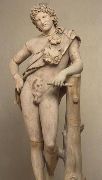 Скульптура «Отдыхающий сатир»