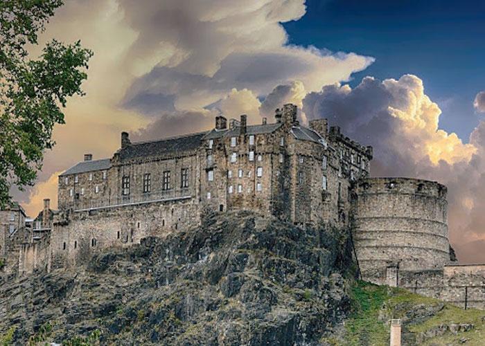 Эдинбургский замок в кино