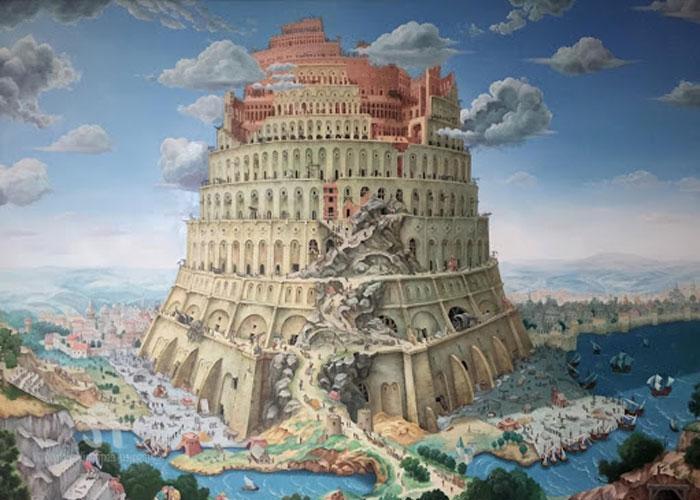 Гениальное сооружение, воздвигнутое жителями древней Вавилонии