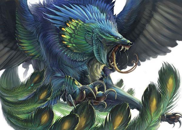 Легенда о птице Симург