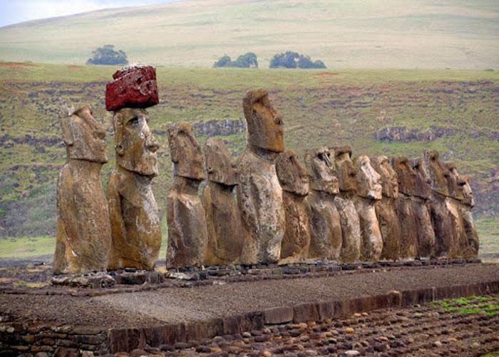 Загадочные монументы древнего острова