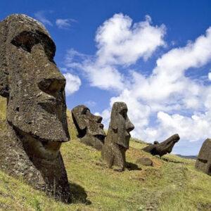 Статуи на острове Пасхи: статуи моаи и их таинственная история