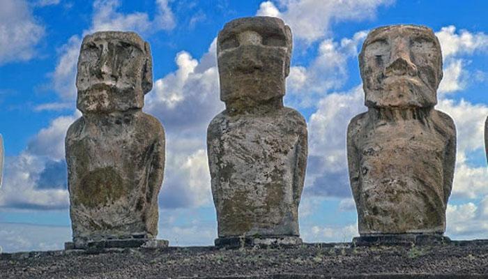 Внешний вид идолов Рапа Нуи