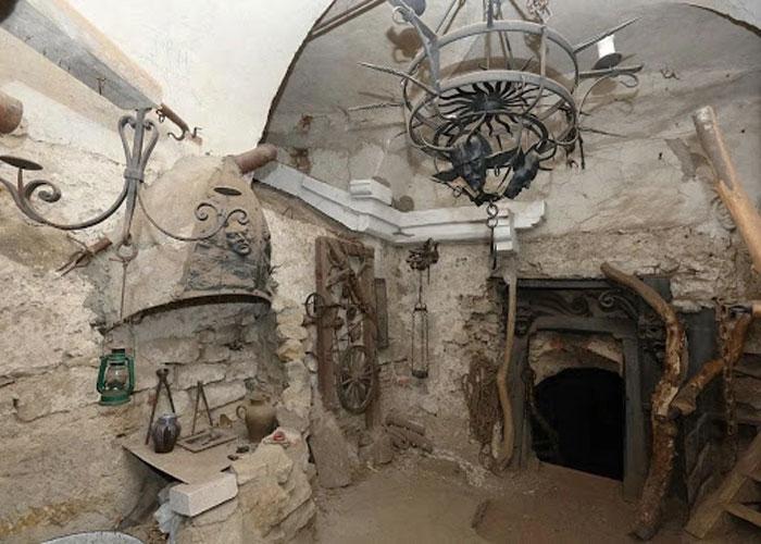 Сохранившиеся помещения исторической крепости
