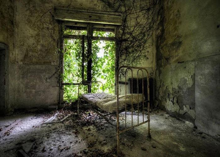 Комнаты, в которых на протяжении 40 дней жили потенциально зараженные люди