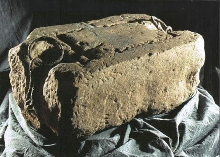 Главная реликвия Шотландии - камень Судьбы, находящийся в Эдинбургском замке