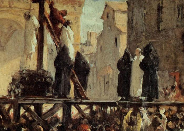 смертная казнь в древности