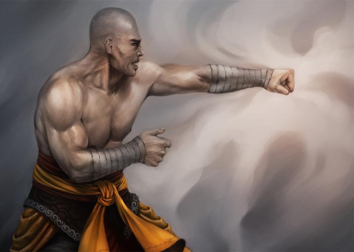 Кулачный бой ниндзя