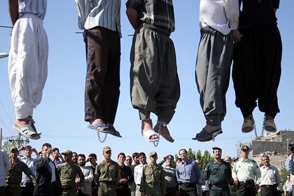 В 2015 году рекордное число смертных приговоров в Иране