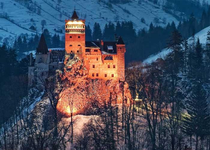 Архитектура замка графа Дракулы