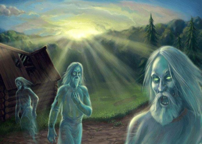 Навьи в славянской мифологии