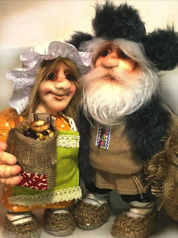 Батанушка с женой