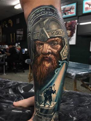 Татуировка дворфа