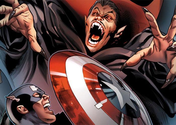Воплощение кровососущего монстра в комиксах