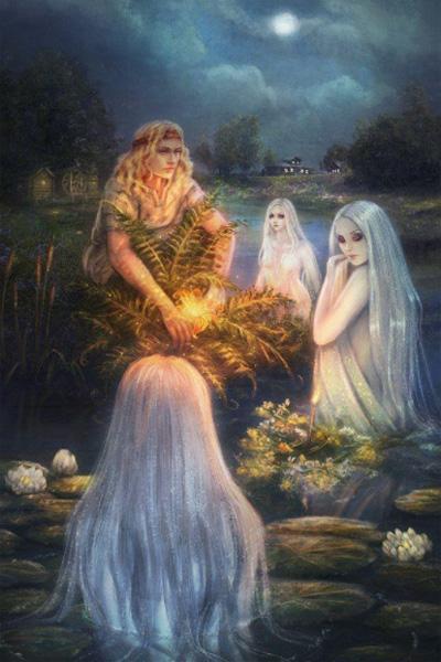 Русалки из славянского фольклора