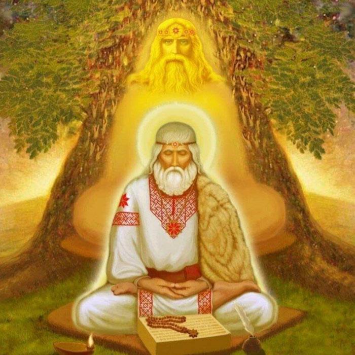 Славянское божество Род