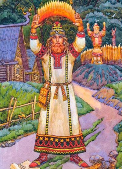 Славянское божество Чур