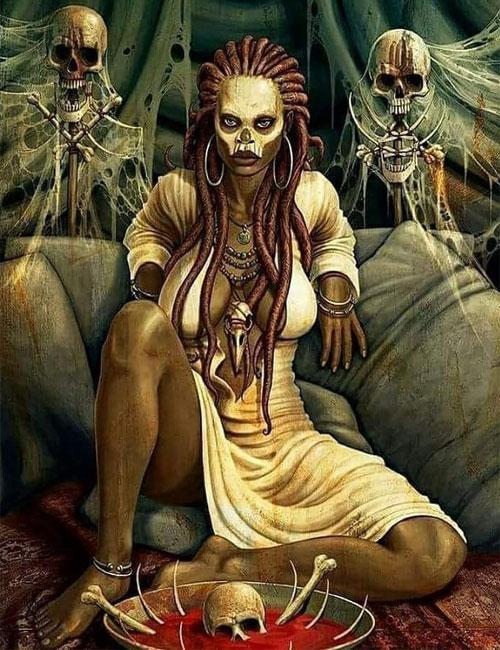 Африканская колдунья