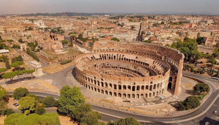 Уникальная конструкция Колизея